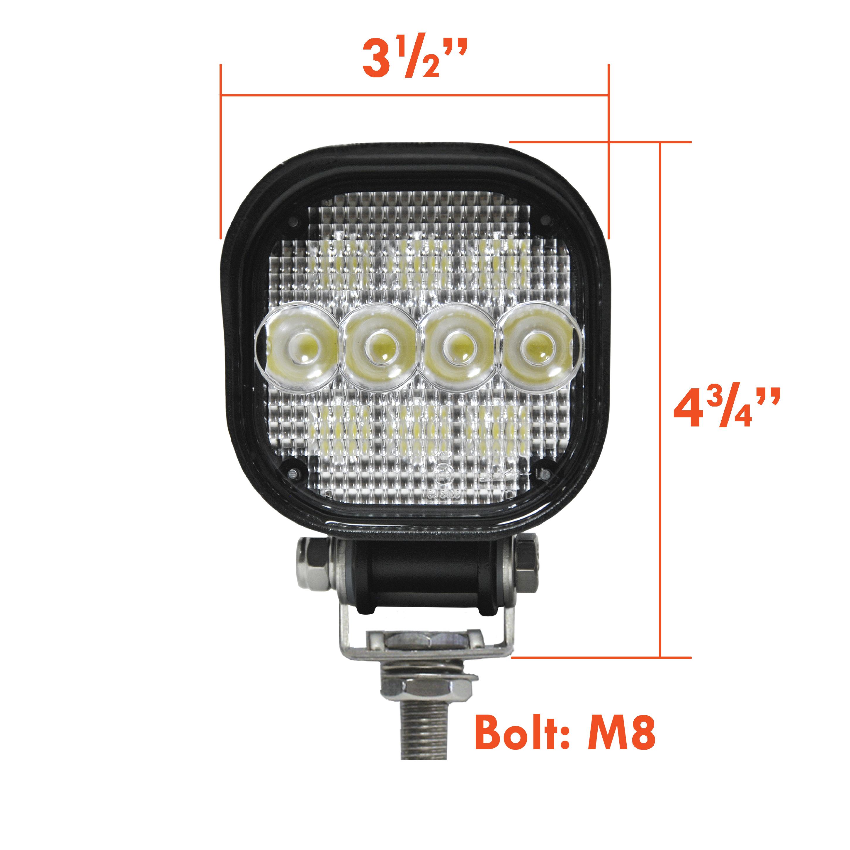 Square LED Flood-Spot Lamp