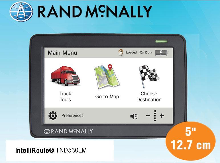 IntelliRoute® TND530LM Truck GPS