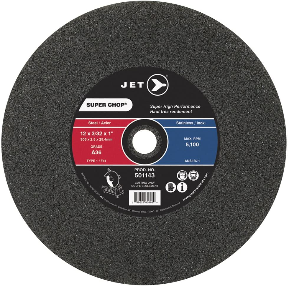 Cut-off wheel for portable chop saws