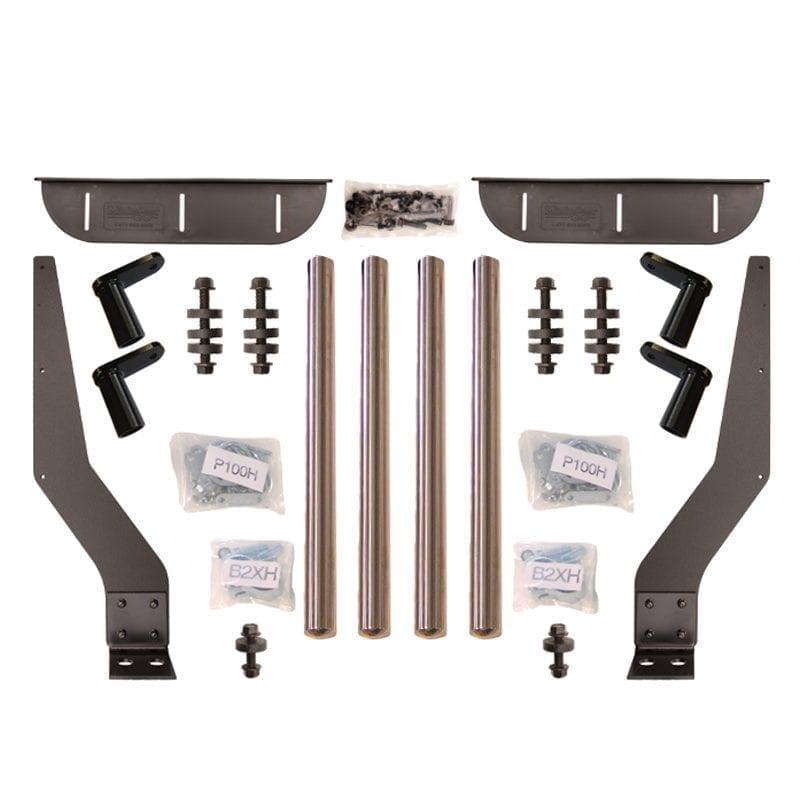 Stainless Steel Bolt On Bracket Kit